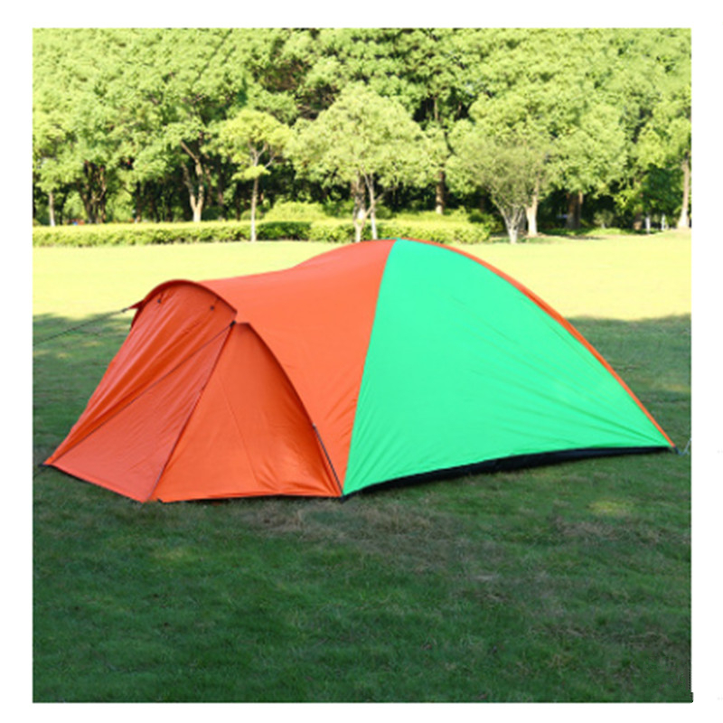 3-4 person Camping Tent Waterproof Double Layer Tents Ultralight Outdoor Hiking Picnic Quick Automatic Opening Tent 3 4 person windproof waterproof anti uv double layer tent ultralight outdoor hiking camping tent picnic tent with carrying bag