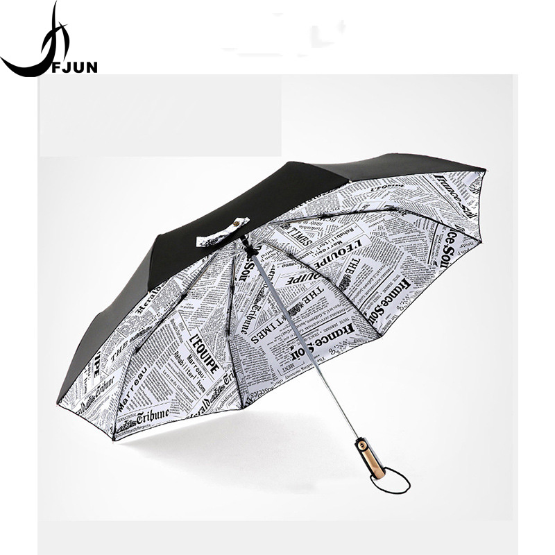 High Quality Brand Large Folding Umbrella Men Rain Woman Double Golf Business Gift Umbrella Automatic Windproof Umbrella parasol