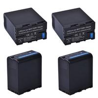 Batmax 14.4 V 5200 mAh 4 Pcs BP-U60 BP U60 소니 BP-U60 BP-U90 BP-U30 및 PXW-FS7/FS5/X180 PMW-100/150/150 P/160 PMW-2