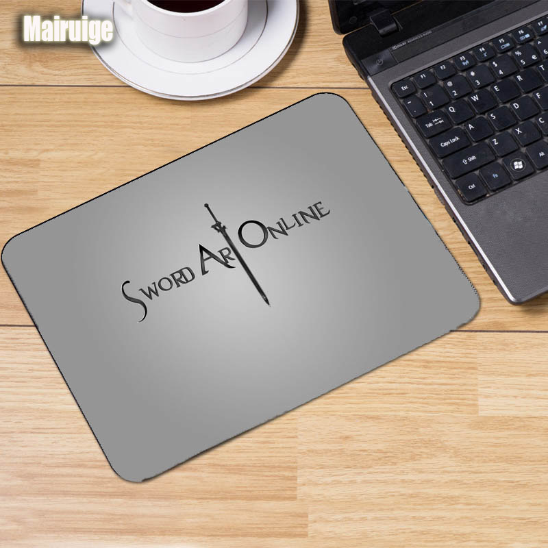 Mairuige Anime Sword Art Online SAO Asuna Mousepad Game Anime Kirito Size220x180x2mm Notebook Table Mouse Pc Tablets Mats