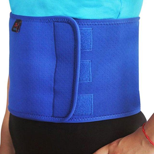 Women Men Body Shape Adjustable Slimming Belt Sports Waist Support Neoprene Safety Comfortable Gym Belt Back Protector