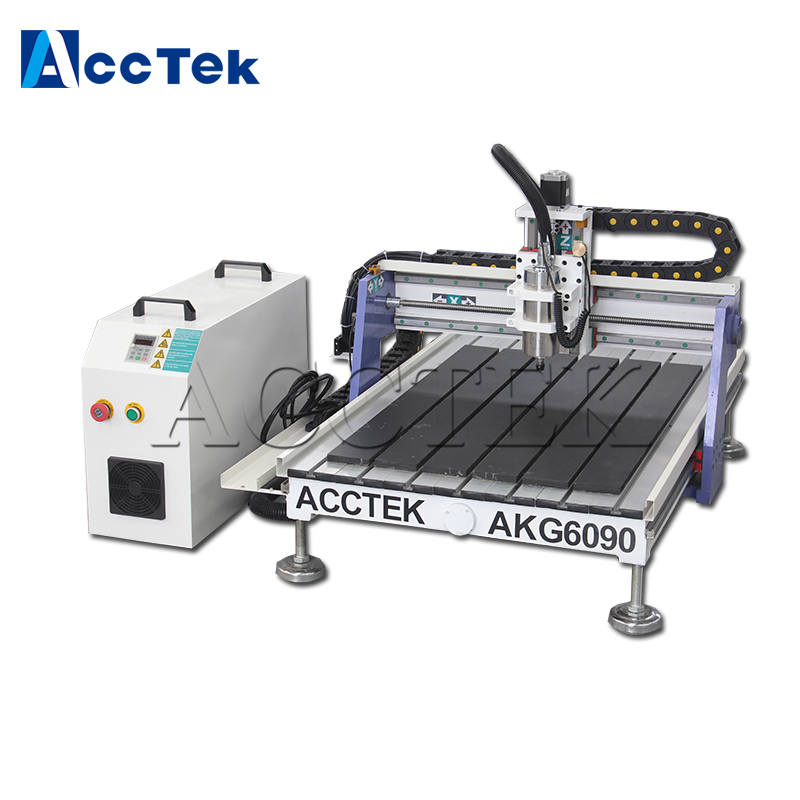 Acctek Small Cnc Milling Machine For Sale  Axis Cnc Router 9060