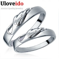 Special Designer 2Pcs Wedding Rings For Men Women Charm Vintage Love Jewelry Engagement 925 Silver Ring