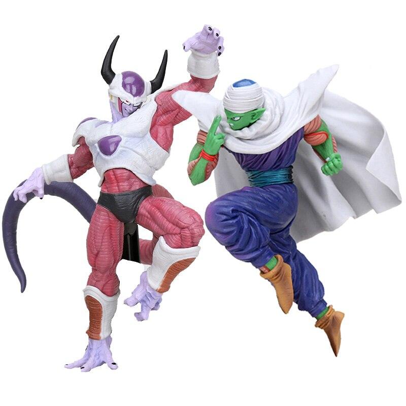 18-22 centímetros Dragon Ball Z Figura de Ação Freeza Piccolo Freeza Segunda Forma Batalha PVC Figurinhas DBZ Brinquedos Figural
