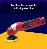Waxing Machine With Lithium Battery Portable Cordless Car Polisher Cleaner Adjustable Speed Polish Machine for Car Maintenance
