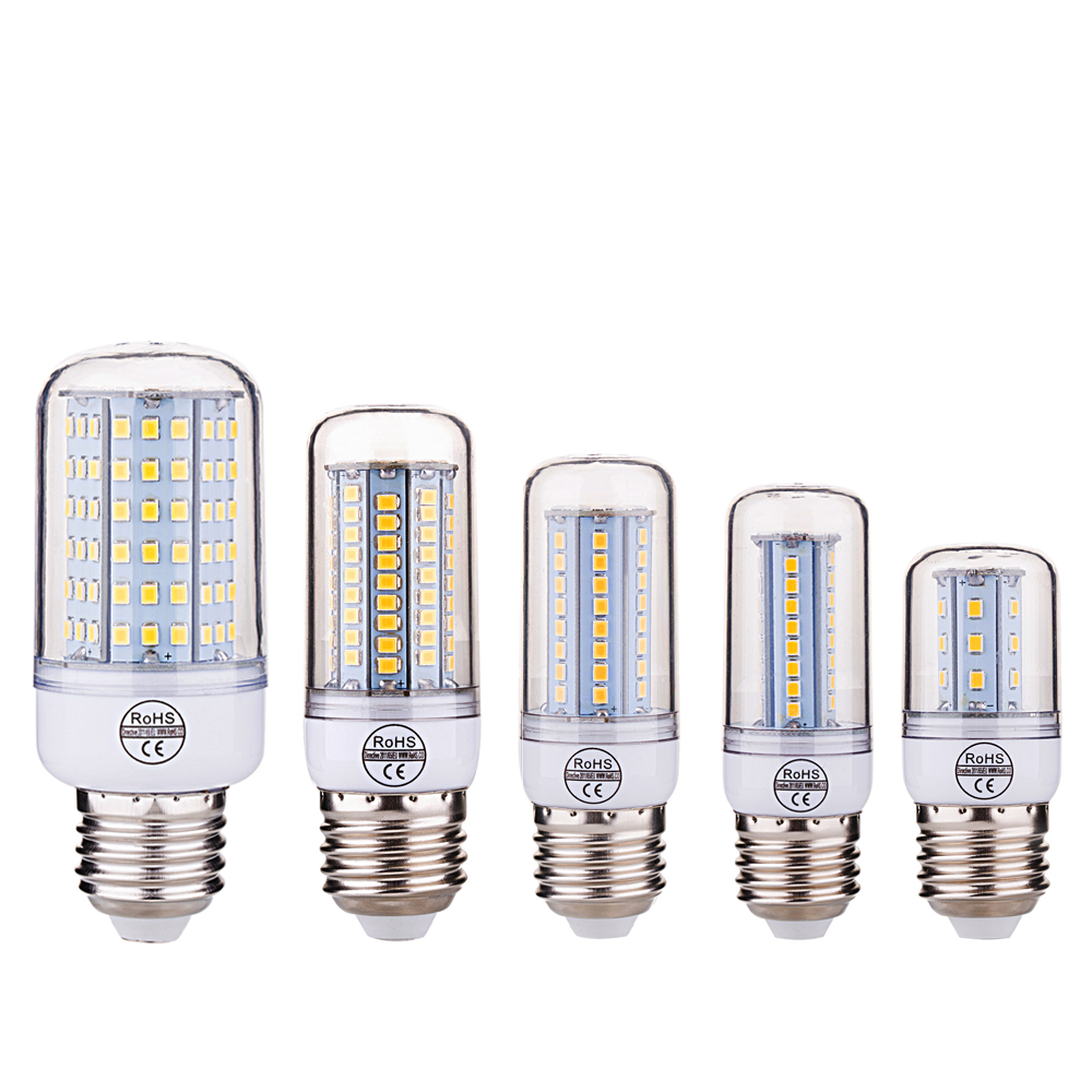 ETONTECK SMD 2835 E27 E26 E14 LED Lamp 27 48 68 102 126LEDs AC 220V Ultra Bright LED Corn Bulb Light Chandelier