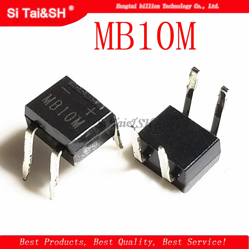 1pcs/lot MB10M 1A/1000V DIP-4