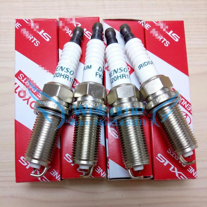 Original Spark Plug for NISSAN TOYOTA VOLVO HONDA LEXUS RX ALPHARD AURION AURIS AVALON AXIO/ALTIS CAMRY COROLLA ESTIMA VENZA