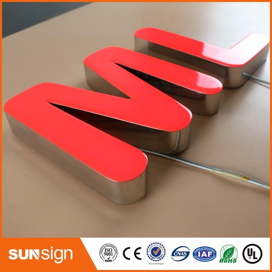 Wholesale led sign custom outdoor sign led light