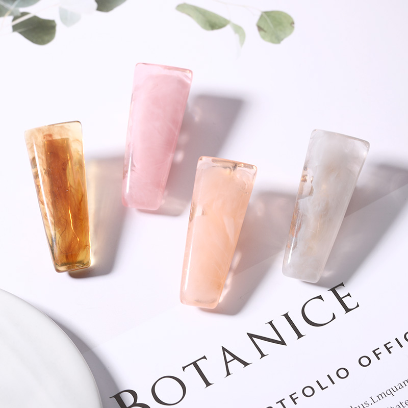New Women Girls Cute Fantasy Acetate Small Rectangle Oval Hairpin   Headwear   Hair Clip Barrette Headband Fashion Hair Accessories