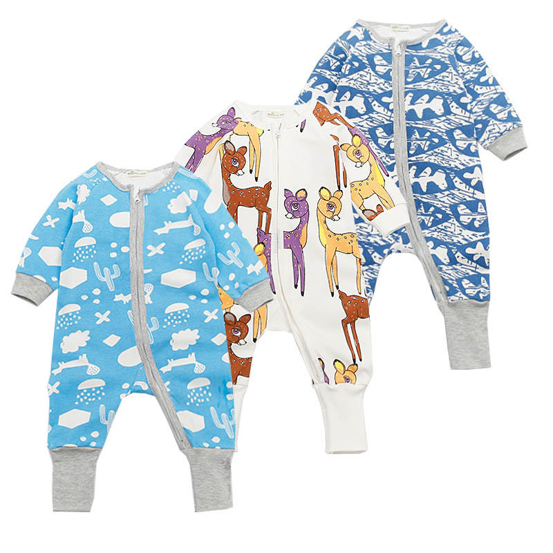 Newborn Baby Clothing Spring Autumn Sports Elastic Baby Rompers Zipper Cotton Jumpsuit Infant Clothes Toddler Girl Boy Costume cotton baby rompers infant toddler jumpsuit lace collar short sleeve baby girl clothing newborn bebe overall clothes