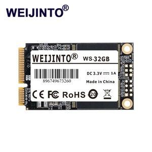 WEIJINTO mSATA SSD internal SATA 8GB 16GB 32GB 64GB Flash storage Internal Solid State Drive Msata 32GB