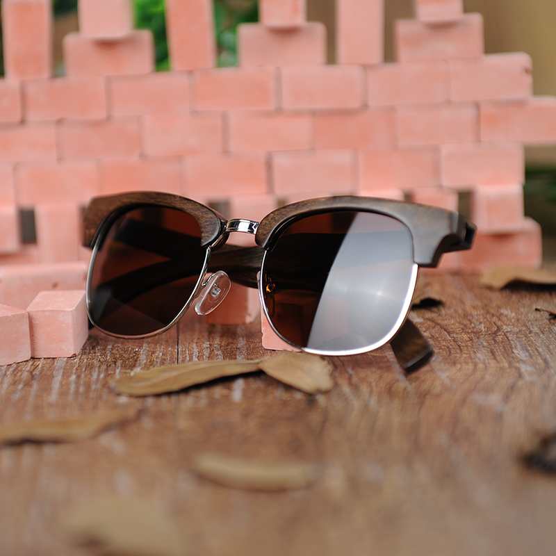 Half-rimmed glasses BOBO BIRD sunglasses women (2)