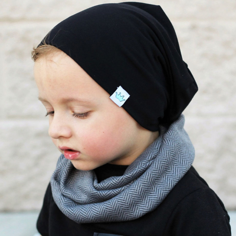Fashion High Quality Kids Boy/Girl Soft Warm Beanie Children Casual Solid Color Winter Hat