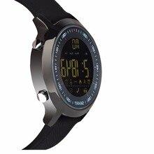 EX18 Смарт-часы 5ATM воды resistan Bluetooth4.0 вызова SMS напоминание монитор сердечного ритма фитнес-трекер Браслет для iOS и Android