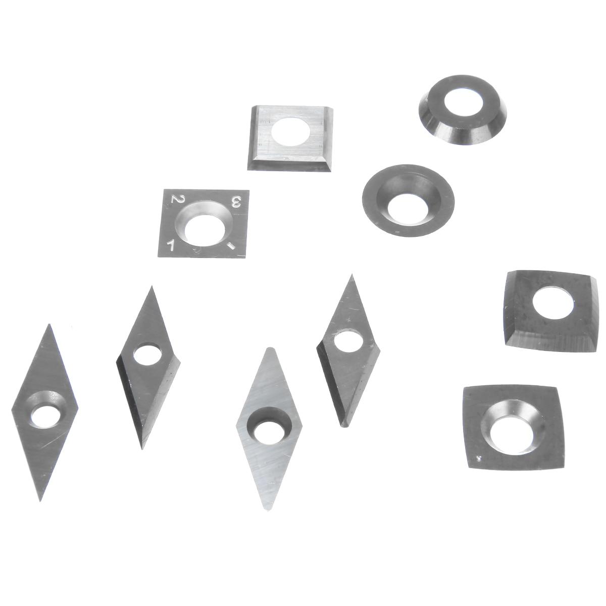 10 pçs set Lâminas de Diamante Quadrado