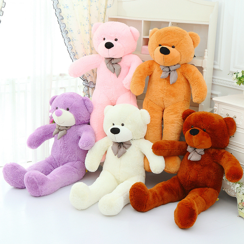 brand new 47 loversvalentines gifts birthday gift 120cm 5colors giant teddy bear children plush toys large soft toys in stuffed plush animals from