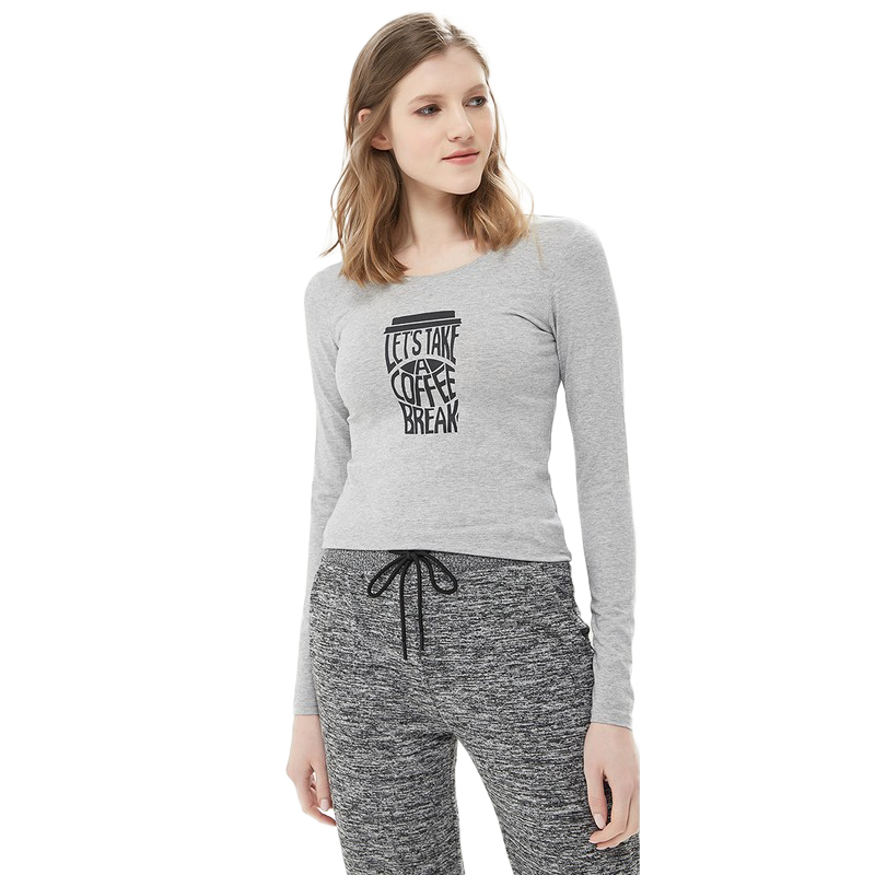 Hoodies & Sweatshirts MODIS M181W00042 woman hooded jumper sweater cotton longslive for female TmallFS