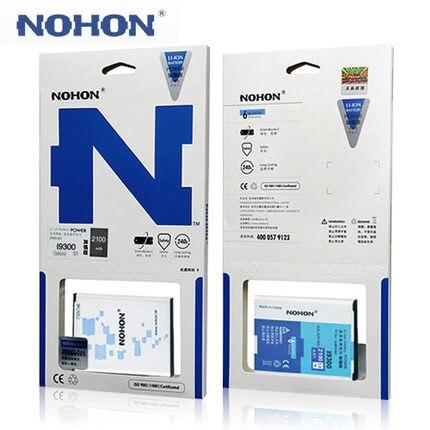 2100 mah Qualidade Nohon Originais EB-L1G6LLU bateria Para Samsung Galaxy S3 i9300 I9305 I535 L710 T999 i9082 i9128v i879 i9301