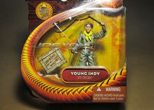 Freeshipping,1:18 Action Figure Raiders of the Lost Ark Indiana Jones young indy original box