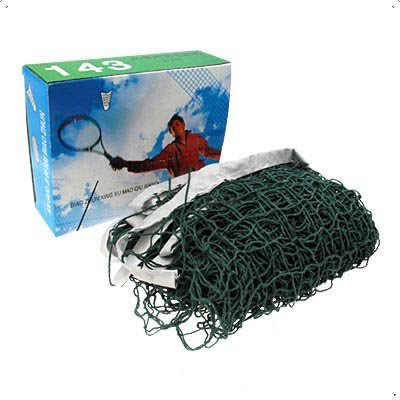 Wholesale 5* Green Deluxe Badminton Net With High Quality Sports Accessory  Mesh about 3x 3cm