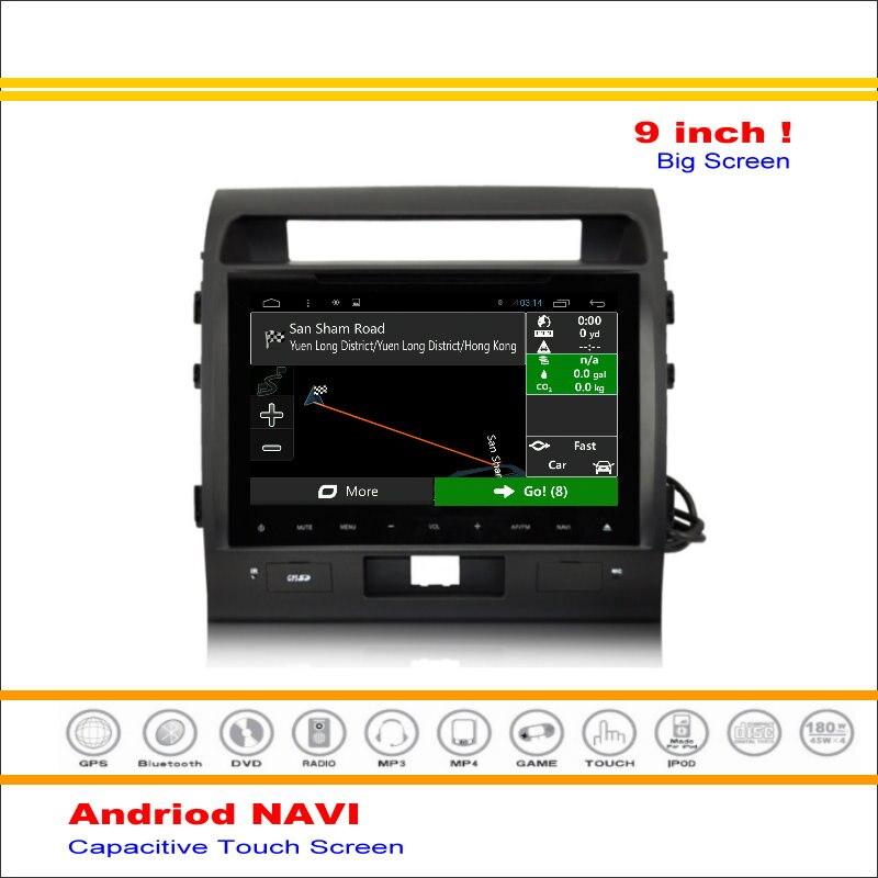 Coche Android Sistema de Navegación GPS de NAVEGACIÓN NAVI Para Toyota Land Crui