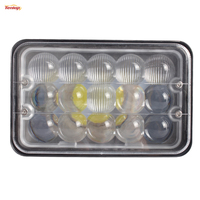 Light Sourcing 4PCS 5 Inch 45W Epistar High Low Beam Work Headlight For Truck Tractor Offroad