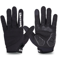 Full Finger Touch Screen Cycling Gloves Road MTB Mountain Bike Gloves Bicycle Outdoor Sport Gel Pad