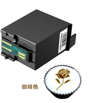 EVEBOT Fantezi Kutu Kartuş Mürekkep WIFI Kahve Yazıcı Mürekkep Yenilebilir Mürekkep