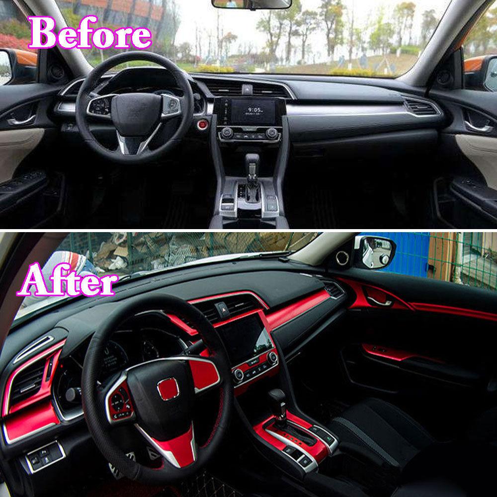 8 Couleurs Disponible 35 Pcs De Changement Vitesse Complet Autocollants Couverture Garniture Decal Pour Honda