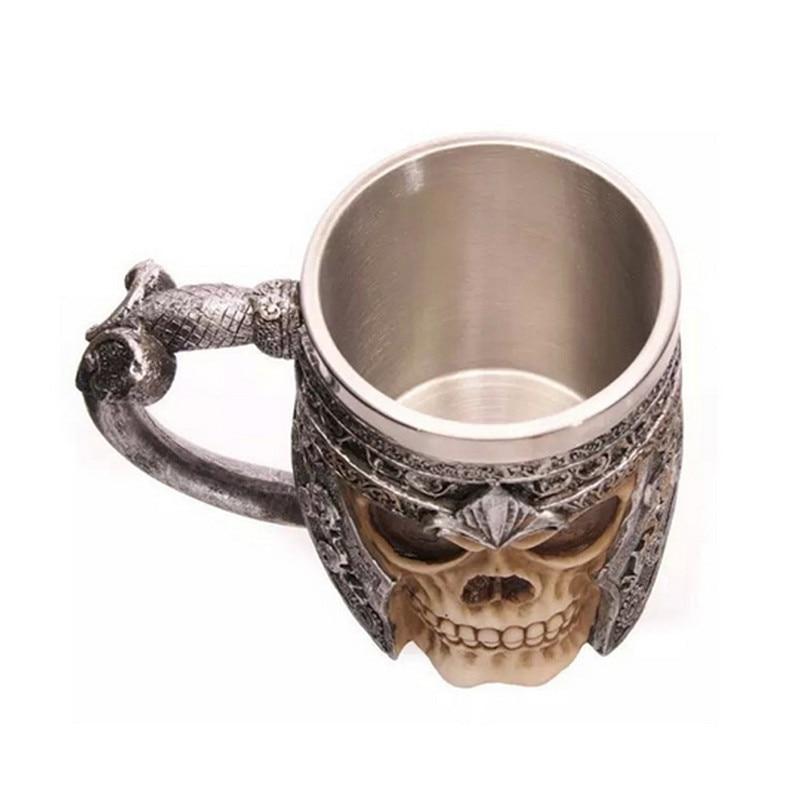 Warrior Tankard Viking Skull Beer Mug 1