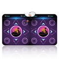 Double dance mat HD TV computer interface dual-thick cut fruit diet somatosensory PK Dance Dance Revolution  Game consoles