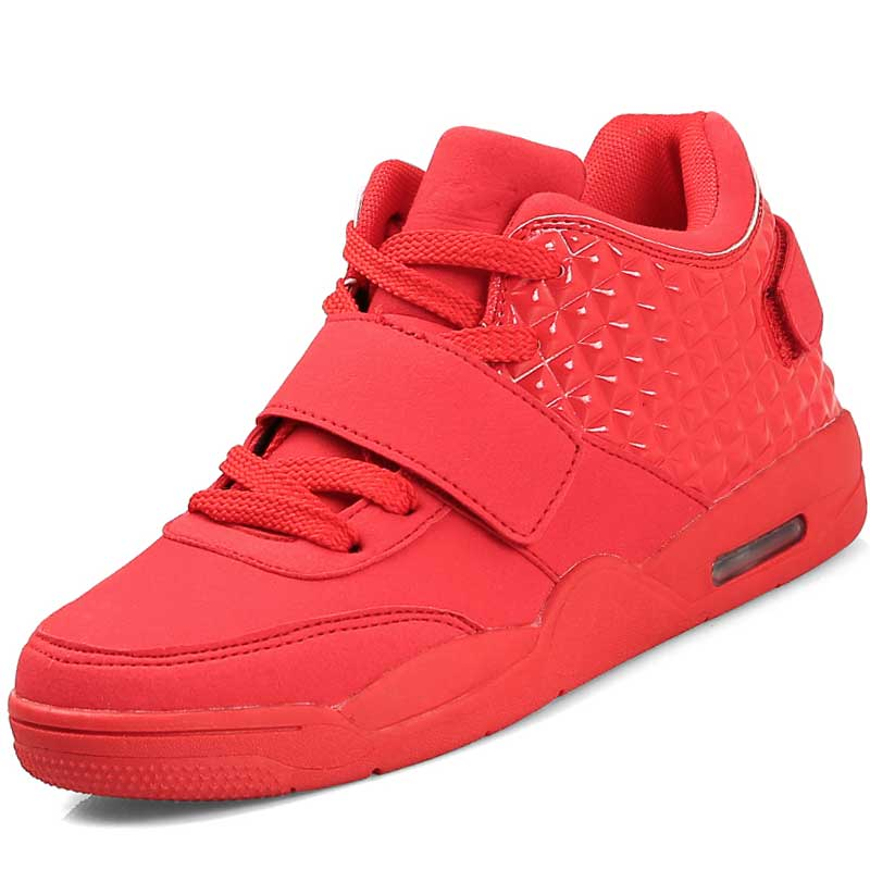 Men Luxury Brand Breathable Basketball Shoes Air Sport Basket Femme Mens High top Sneakers Trainers Original Red Bottom Mujer