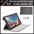 """Для Cube iwork1X Case PU leather Case Специальный откидная Крышка Case Для cube iwork1X 11.6 """"Планшетный ПК Freeshipping + 3 подарок"""
