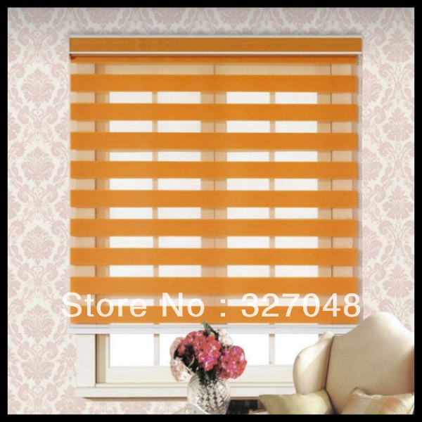Blinds For Windows Curtain Roller Zebra Fringe