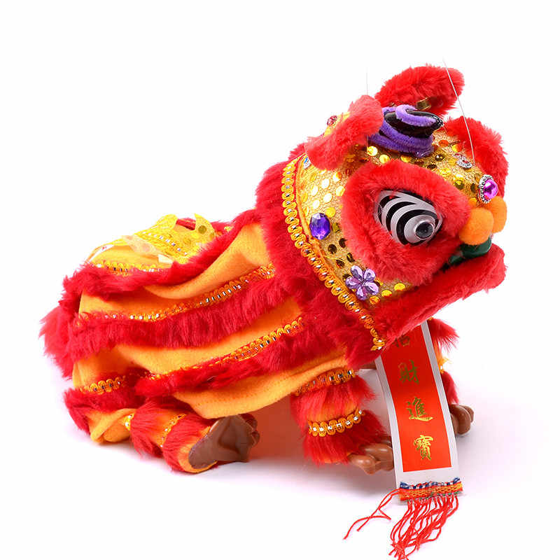 566bb1d29 ... Model Plush Toys Marionette Lion Dance Chinese Traditional Custom  Performance Projects Creative Novelty for Parents and ...