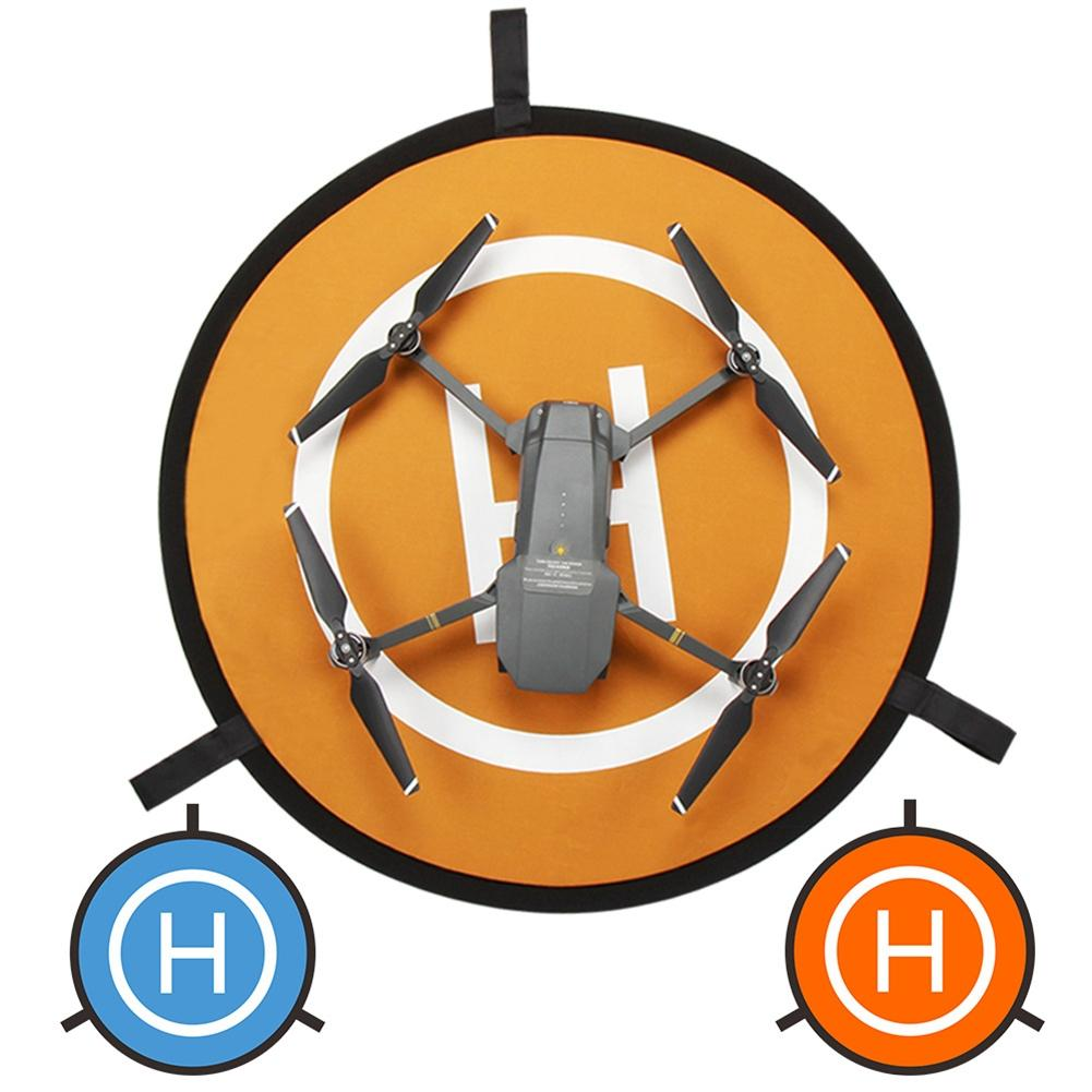 LeadingStar 110cm RC Drone Launch Pad Quadcopter Helicopter Waterproof Mini Portable Landing Pad Helipad For Racing Drone Acce drone helipad