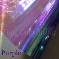 30cmx10m Roll Purple Chameleon Headlight Tint Film Car Taillight Fog Vinyl PROTWRAPS NEOCHROME Headlamp Tinting Foil