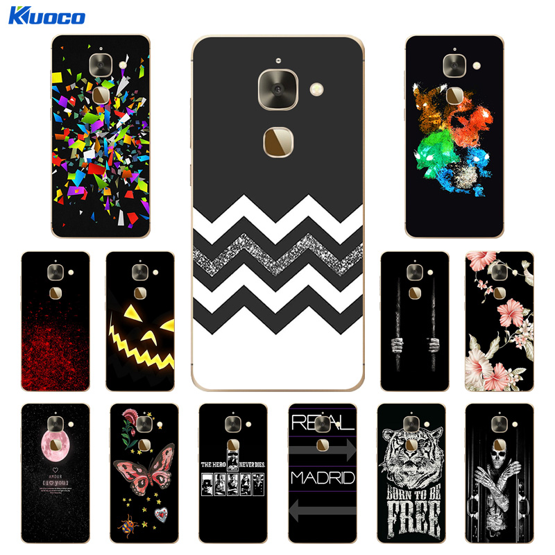 For Leeco Le 2 Phone Case X527 Soft TPU Cover For Letv Le S3 X626 / Le 2 Le2 Pro 5.5 X620 Silicone Character Printing Capa