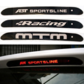 Carbon Fiber Automobiles Car Stickers High Positioned Rear Brake Lights For Volkswagen 2011 Polo Golf 6 Car Styling