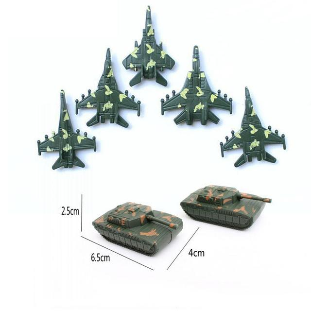 307pcs/lot Soldier Model Toy Military Plastic Army Men Figures Accessories Educational Toys for Children Birthday Boys Gifts 4