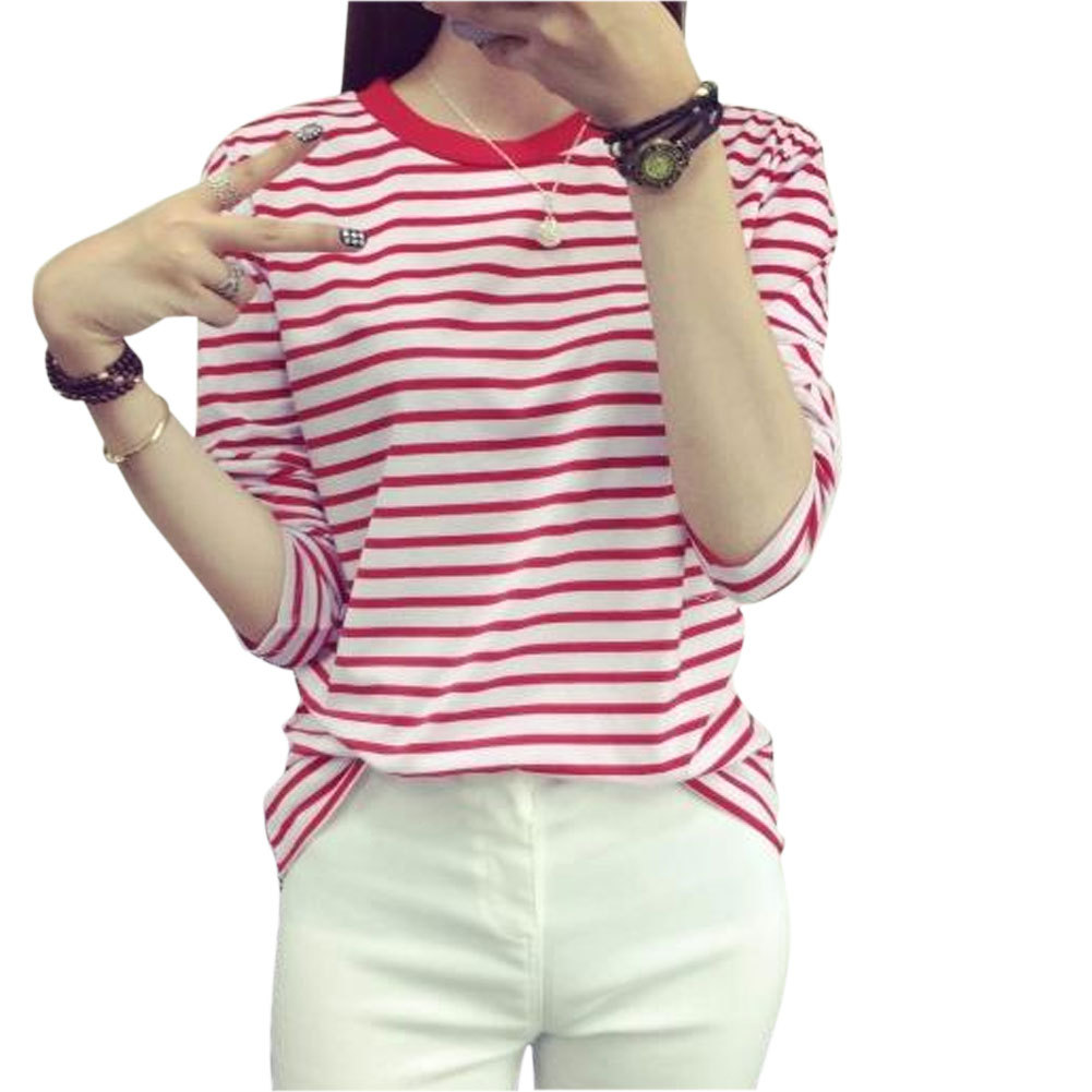 Compare Prices on Red White Striped Shirt Long Sleeve- Online ...