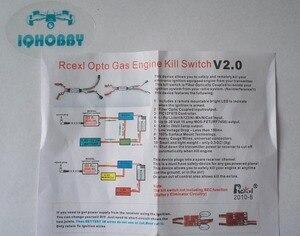 Image 3 - Бесплатная доставка, Rcexl Opto, Газовые двигатели, дистанционный переключатель уничтожения K1 V2.0 для модели с дистанционным управлением