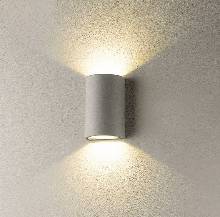 Wall Lamps 2*5W COB LED Outdoor Wall Sconce Waterproof Modern LED Wall Light Warm White 2pcs COB ...