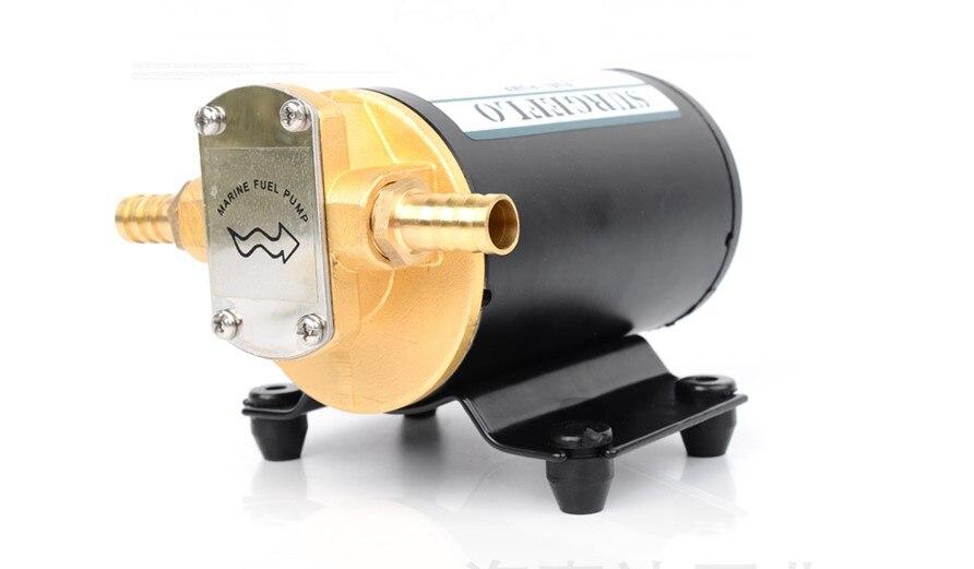CE ISO Voiture Extracteur D'huile Pompe DC12V 24 V IP55 pompe de transfert de carburant Moto Diesel Fluide De Récupération D'huile Liquide Échange Transfert - 5