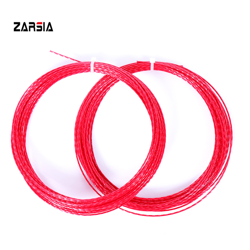3pcs ZARSIA HEXASPIN TWIST Tennis Strings 1.23mm Tennis Racket String