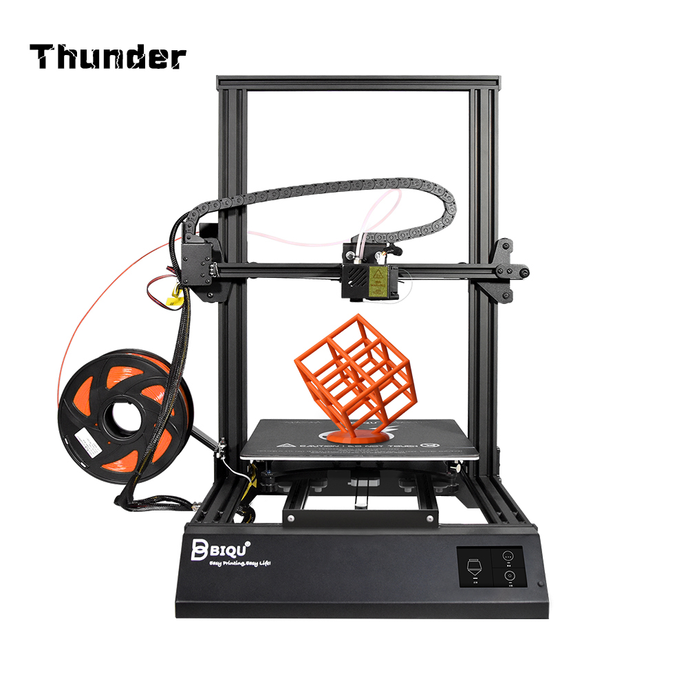 BIQU Thunder China Large Printing Cloud APP Filament Sensor Auto Shuts Down 3.5Inch touch screen more intellige 3D Metal Printe(China)