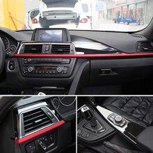 Для BMW 3 4 серии f30 f34 GT 316i 320li 2013- ABS центральная консоль приборная панель декоративная панель накладка 3 шт. автомобильные аксессуары