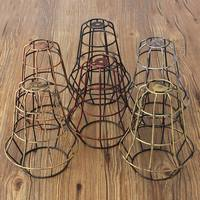 New Vintage Retro Edison Pendant Light Bulb Iron Guard Wire Cage Ceiling Hanging Light Fitting Bar