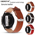 Genuine Leather Bracelet Strap Watchband For Samsung Gear S3 Frontier/Classic SM-R770 SM-R760 SM-R765 Smart Watch